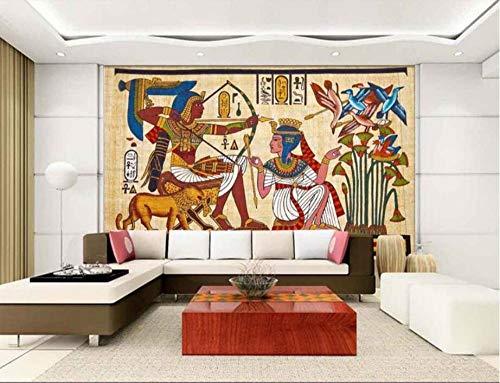 behang muurschildering stickers huis meubels woonkamer slaapkamer behang klassieke Egyptische muurschildering TV muren 3D behang muurschildering 150 * 105cm
