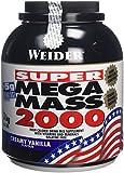 Weider Weight Gainer Mega Mass 2000 Complément alimentaire Vanille 3000 g