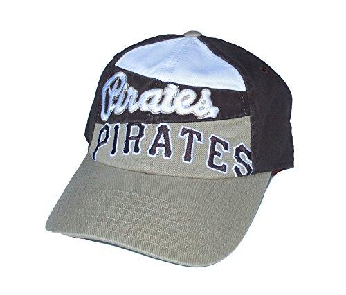 Genuine Merchandise Pittsburgh Pirates Baseball Adjustable Hat Cap - OSFA Brown & Tan