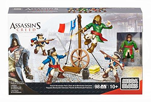 Assassin's Creed - Mega Bloks French Revolution Pack, Juego de construcción (Mattel CNK24)