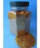 Kögler Glitter Glitterstaub Farben Gold pro Dose 350g