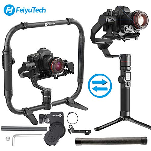 FeiyuTech AK4000 3-Axes Gimbal Stabilisateur Payload 4 KG Compatible with Mirrorless & DSLR Camera Sony Canon...
