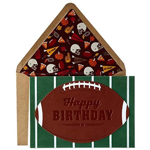 Hallmark Signature Birthday Card for Him (Football) (599RZH1076)