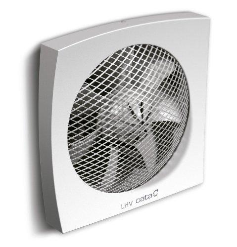 Cata LHV-160 (V2) Wand Fenster Ventilatorr Leistung, 450 m³/h, 160 mm, Made in Spanien (LHV 160 / 450 m³/h)