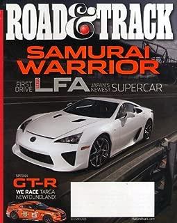 Road & Track December 2009