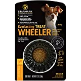 Starmark Everlasting Treat Wheeler Dog Toy, Small