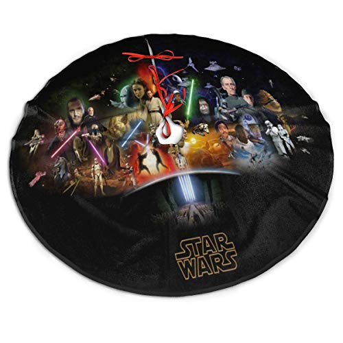 Star Wars Christmas Tree Decoration Tree Skirt Mat Holiday Party Home Decoration48