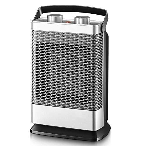 LMCLJJ Riscaldamento, 1500W portatile scrivania Tranquillo veloce riscaldamento ventilatore con regolabile for Office Desktop and Home, riscaldatore elettrico di regolazione hree velocità 90 ° Scuoter