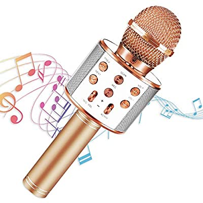 SEPHIX Kids Gifts for 4-15 Year Old Girls Toys, Portable Karaoke Microphone with Speaker for Kids Singing Toys for 7 8 Year Old Girls Birthday Gifts for 5, 6, 7, 8, 9, 10 Year Old Teens Girls Boys