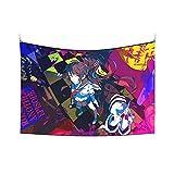 Da-n-ga-nron-pa World Tapiz para colgar en la pared Tapices de pared de 101,6 x 152,4 cm para decoración de dormitorio