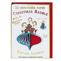 パルプカード クリスマスカード PJ055 デコ(コーラス)