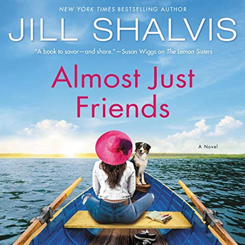 Almost Just Friends audiobook cover art