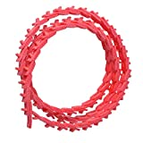 4 FT Power Twist V-Belt 3/8-Inch x 4 Feet Z Type, Adjustable Link V-Belt Perfect for Lathes, Table Saws & Woodworking Tools