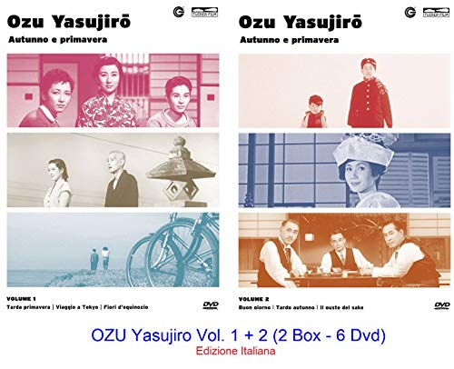 OZU Yasujiro Vol. 1 + 2 (2 Box - 6 Dvd) Ed. Italiana