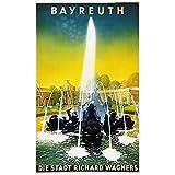 Chifang Deutschland Reiseposter Bayreuth die Stadt Richard