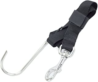 Sopras Sub Stainless Steel Reef Hook Scuba Diving Drift Dive Cave Wreck Nylon Belt and Clip