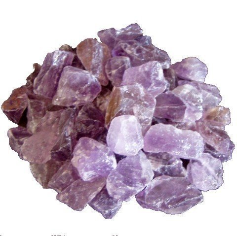 Home Trends and More Amethyst Rohsteine klein 1 Kg | Naturbelassener Edelstein lila violett | ideal zur Deko für Wohnbereich | Heilstein und zur Verwendung als Wasserstein