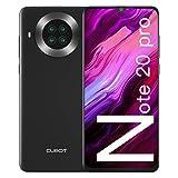 CUBOT Note 20 Pro Cellulari Offerte, 6GB RAM + 128GB ROM Octa Core Smartphone, 6.5 pollici HD+ Cellulare Android 10, Quad Camera 12MP + 20MP, 4200 mAh Telefono 4G Dual SIM, NFC, GPS, Face ID