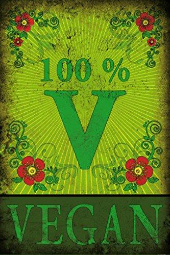 1art1 Kochkunst - 100% Vegan Selbstklebende Fototapete Poster-Tapete 180 x 120 cm