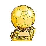 Color : 15cm Yoda Pallone doro Champion Trofeo doro del Calcio dei Trofei for i Fan Collezioni Decorazione e Regalo