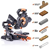"""Best Compound Miter Saws - Evolution Power Tools R185SMS+ 7-1/4"""" Multi-Material Compound Sliding Review"""
