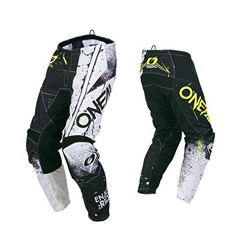 O'NEAL Element Shred MX DH MTB Pant Hose lang schwarz/weiß 2019 Oneal: Größe: 36 (52)