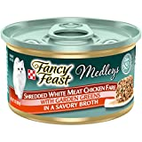 Fancy Feast Elegant Medleys Shredded White Meat...