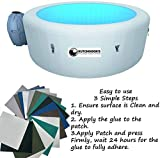 Hottub Puncture Repair Kit Patch Puncture Lazy Day Hot Tub Spa Multiple patches and colours Inflatable...