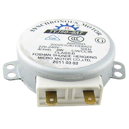 Synchronmotor für Mikrowellen-Drehteller 4W, 220–240 V Gleichstrom, 4 U/min, CW/CCW. de
