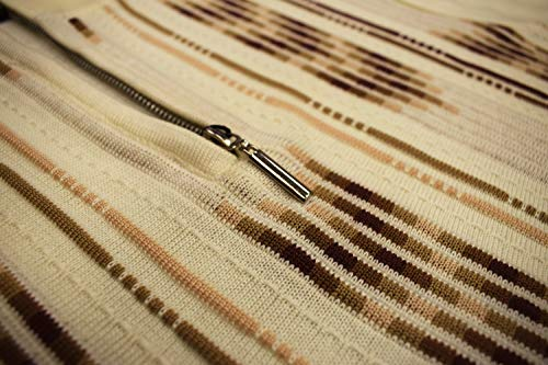 STACY ADAMS Men's Sweater, Vertical Arrow Jacquard