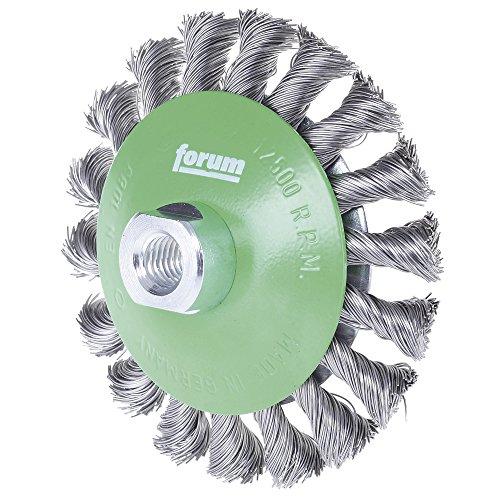 Forum Brosse conique acier M14 115 x 0,35 mm gezopft, 4317784861366