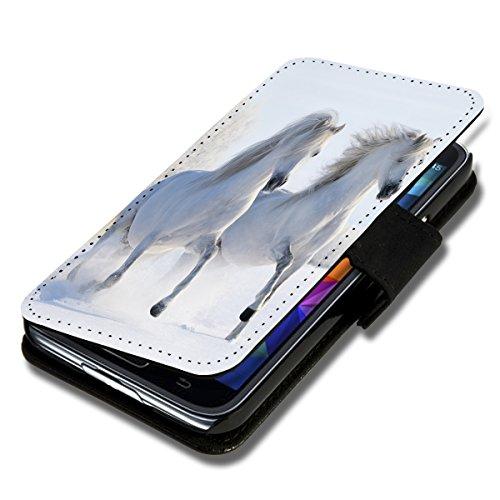wicostar Book Style Flip Handy Tasche Case Schutz Hülle Schale Motiv Foto Etui für Wiko Rainbow Jam - Flip A38 Design2