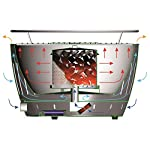 LotusGrill starter set 1x grill with USB connection, 1x beech charcoal 1 kg, 1x fuel paste 200 ml, 1x sausage tongs fire… 8