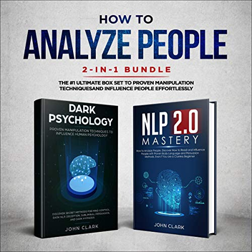 How to Analyze People 2-in-1 Bundle cover art