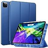 ZtotopHülle Magnetische Hülle für iPad Pro 11 2021/2020, Ultra Slim Smart Magnetic Back Trifold Stand Schutzhülle mit Auto Wake/Sleep für 2021/2020 iPad Pro 11 Zoll, Blau