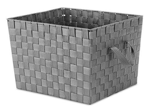 Whitmor - Bolsa de Tela, Color Negro, Savvy Gray, 1, 1