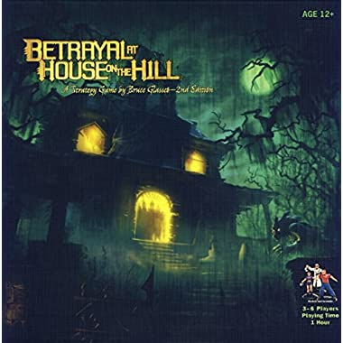 Avalon Hill Betrayal At House On The Hill - 2nd Edition