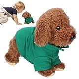 Emoshayoga Juguete del Perro del Animal doméstico Juguete del Perro de la Felpa Juguete electrónico Inteligente del Perro del Animal doméstico Niños para el Regalo casero(Teddy)