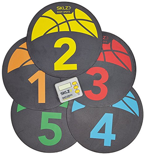 SKLZ Trainingsmarkierungen Shot Spotz Basketball, multi-color