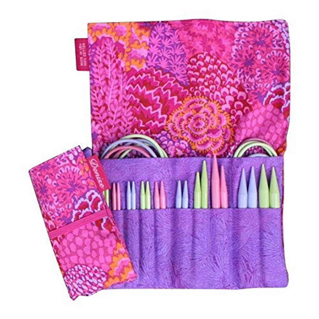 Denise Interchangeables Knit for a Cure Knitting Needle Kit, Pink Bouquet
