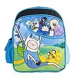 Adventure Time Small Backpack - Jake Finn Friends 12' Boys Toddler Book Bag