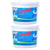 DampRid Hi-Capacity Moisture Absorber Bucket attracts and traps excess moisture, eliminating musty odors from damp areas The hi-capacity design features a unique Moisture Lock spill resistor technology with a sealed safety cover for a mess free solut...
