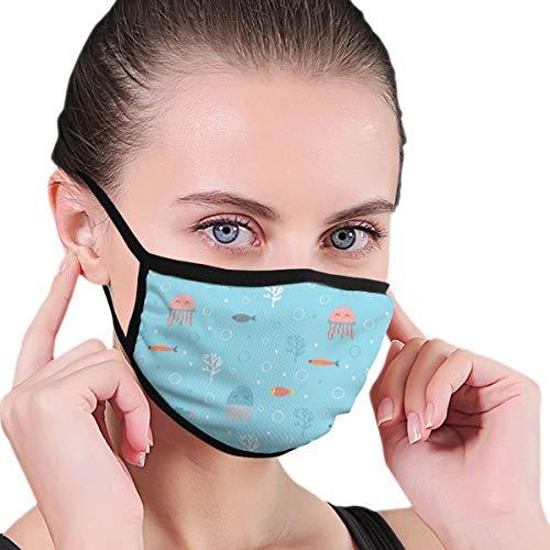 Huyotop Máscara lavable reutilizable de 6,8 x 4,7 pulgadas para hombr