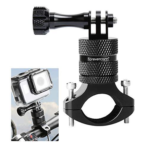 Forevercam – Lenker-Fahrradhalterung für Actionkamera, Aluminiumlegierung, 360-Grad-Rotation, Befestigung für alle GoPro-Modelle/Actionkameras, Mountainbike-Halterung