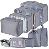 Packing Cubes for Travel, Ionlyou 9PCS Suitcase Luggage Organizer Set Lightweight Travel Essentials