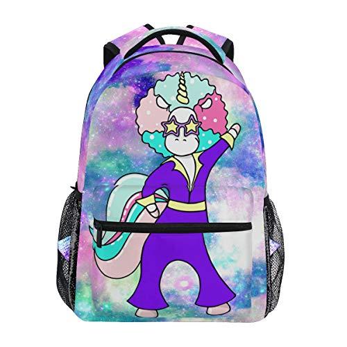 Mr.Lucien Space Galaxy Unicornio mochila para niño niña moda bolso 2021207