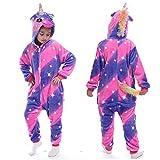 YQ&TL Pijamas de Cosplay para niños, Ropa de una Pieza Unisex, Pijamas de Animales, Monos de Carnaval Pijamas de una Pieza G 140cm