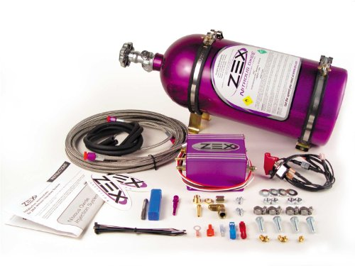 ZEX 82015 Dry Nitrous System with Purple Bottle for '86-'98 Ford Mustang 5.0