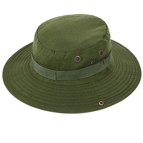 Bluelover Aotu Camuflaje Selva Sombrero Gorra Sombrero