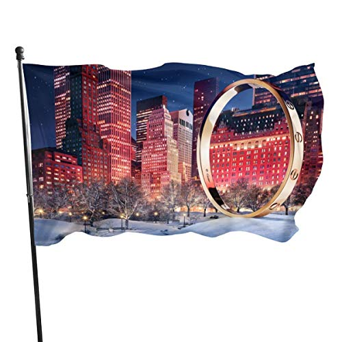 N/A American Guard Vlag Banner Home Vlaggen Downloaden Cartier gouden armband Ontwerper Sieraden Verticale Garde voor Familie Patio College Decoratie 3x5 Voet